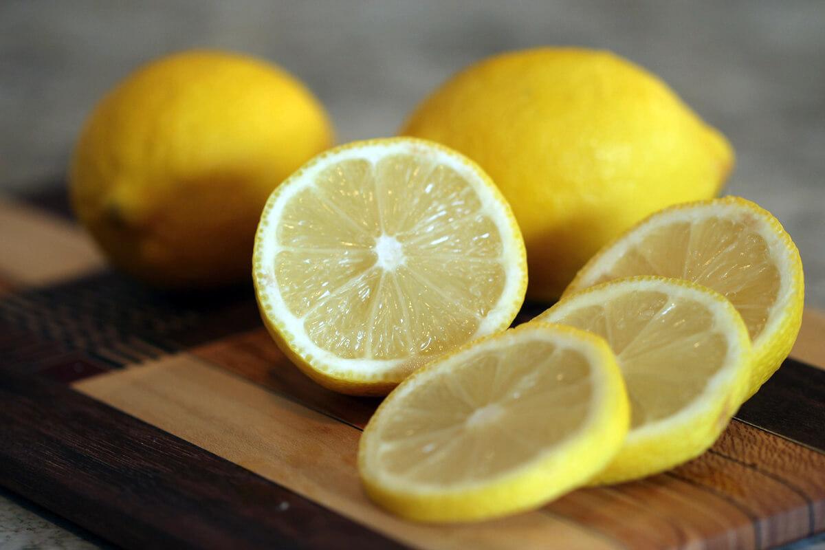 レモンのスライス