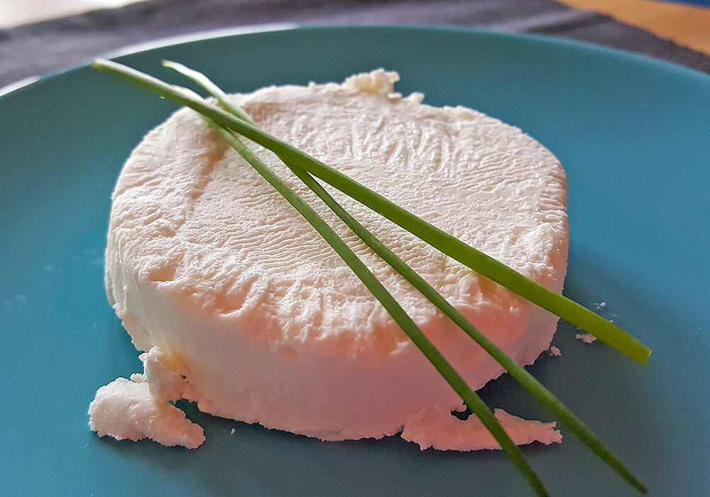 チーズとチャイブ
