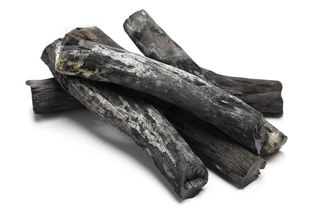 ウバメガシの備長炭